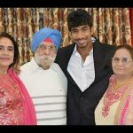 Picture of Jasprit Bumrah Family