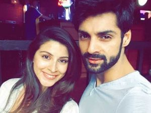 Picture of Karan Wahi and his girlfriend